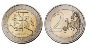 Kolekcines eurų monetas papuoš lietuvių skalikai ir žemaitukai