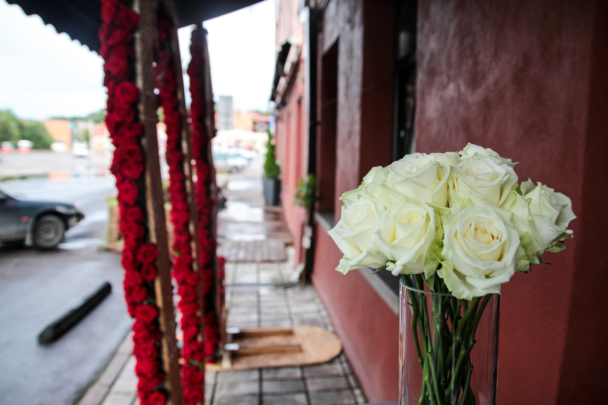 Rekordinė rožių puokštė