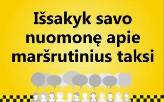 Maršrutiniai taksi Kaune