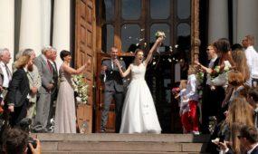 I. Zasimauskaitės ir M. Kiltinavičiaus vestuvės