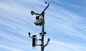 Vidutinį greitį fiksuojantis radaras