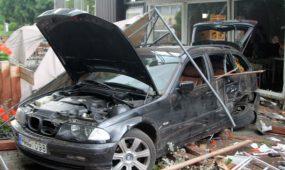 BMW avarija Tvirtovės alėjoje