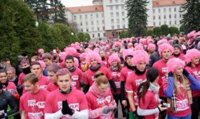 Pink Run su Benu 2014-ųjų bėgimo akimirkos