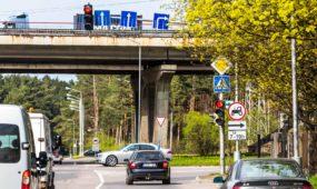 Kauno vairuotojus pasitinka eismo permainos Jonavos gatvėje ties aplinkkeliu