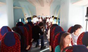 Pirmoji kelionė traukiniu į Lenkiją