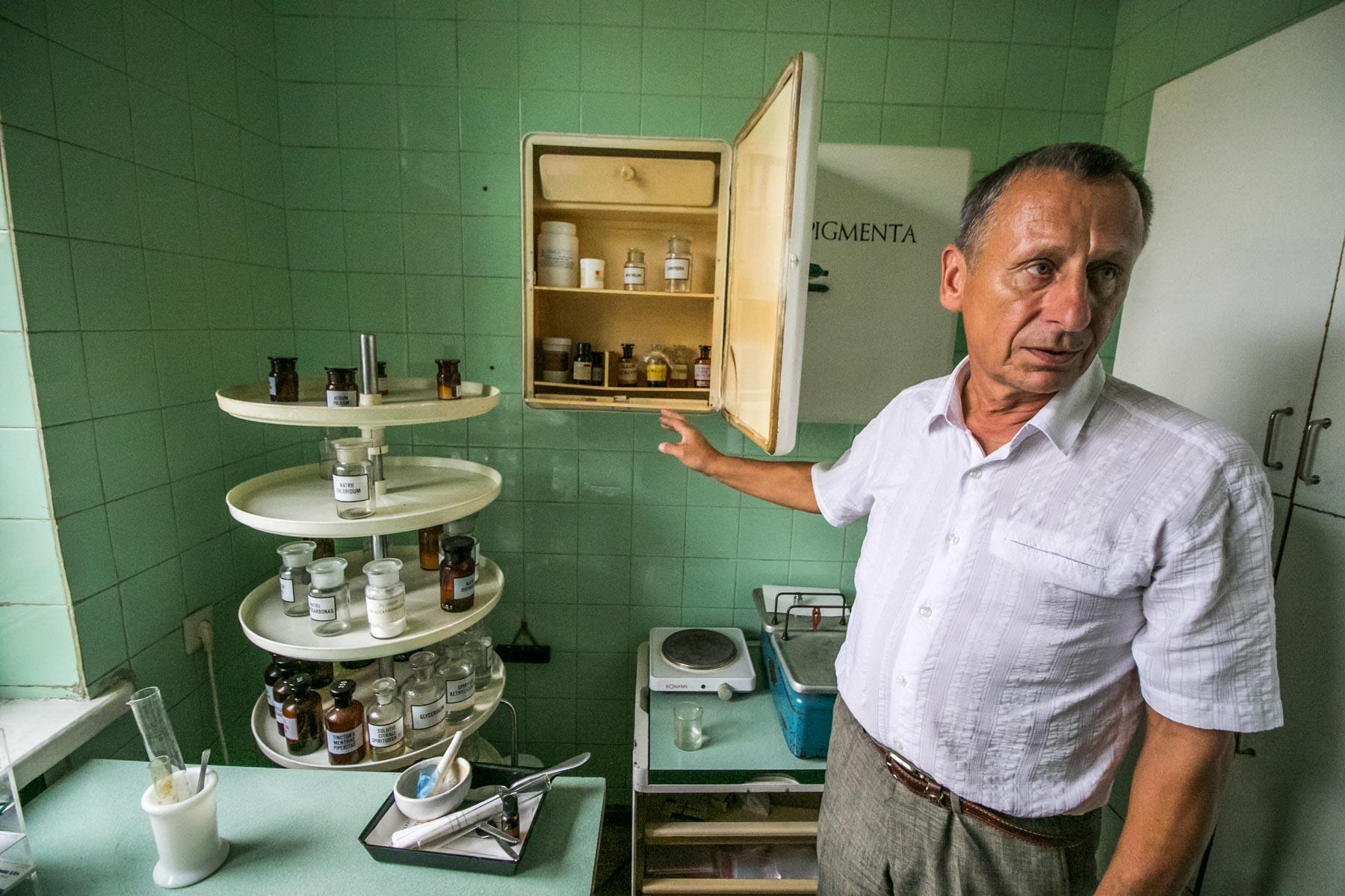 Senoji arbatinė ir vaistinė