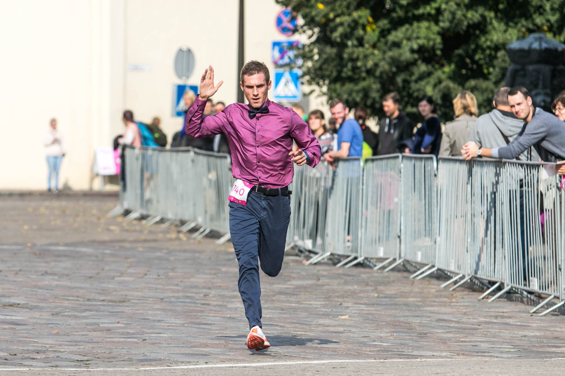 """""""Pink Run"""" bėgimas"""