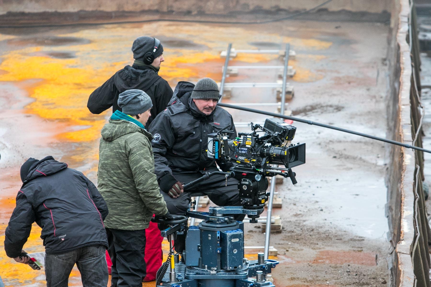 """Filmo """"Pelėdų kalnas"""" filmavimas"""