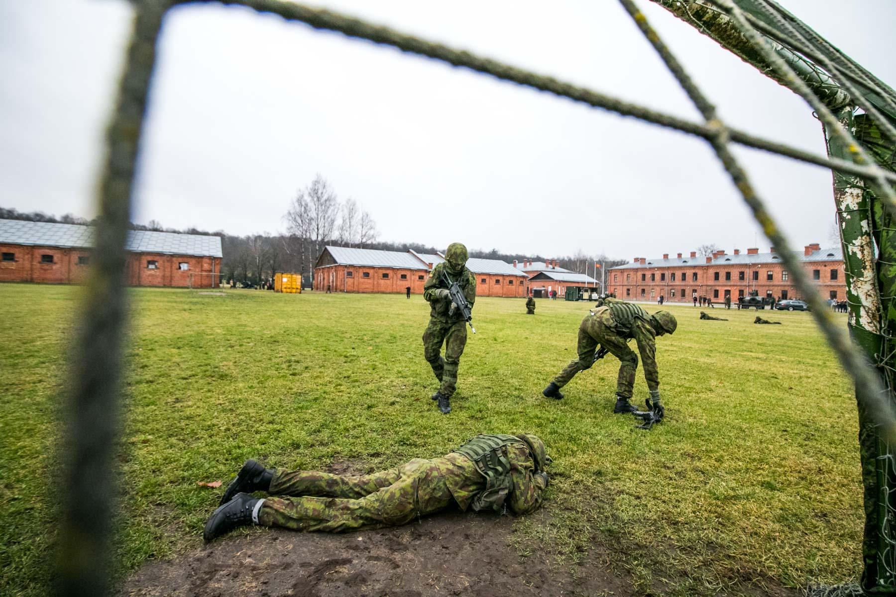 Atvirų durų diena Inžinerijos batalione
