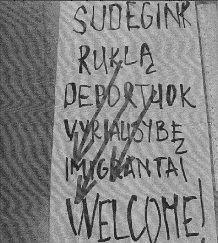 Plakatas Rukloje