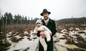 J. ir V. Salinių šeima