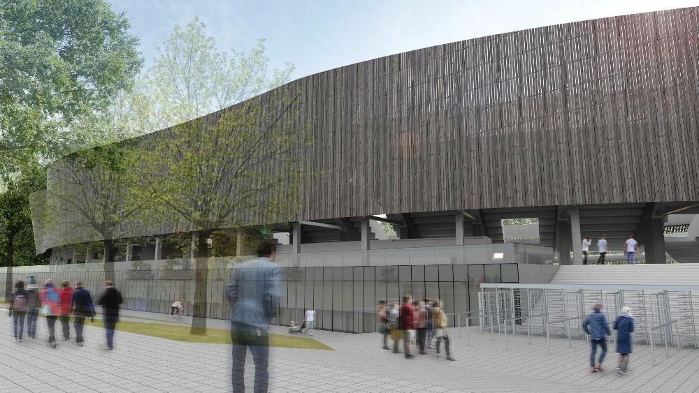 S. Dariaus ir S. Girėno stadiono vizualizacija