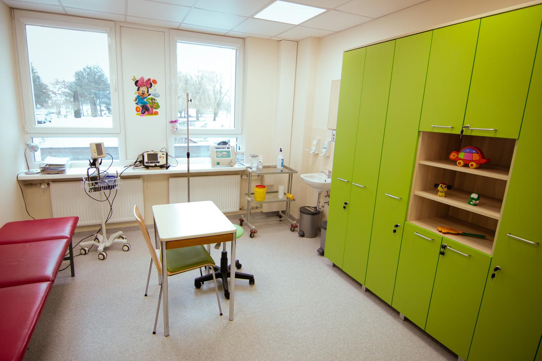 Kauno klinikinės ligoninės Vaikų priėmimo skyriaus atidarymas