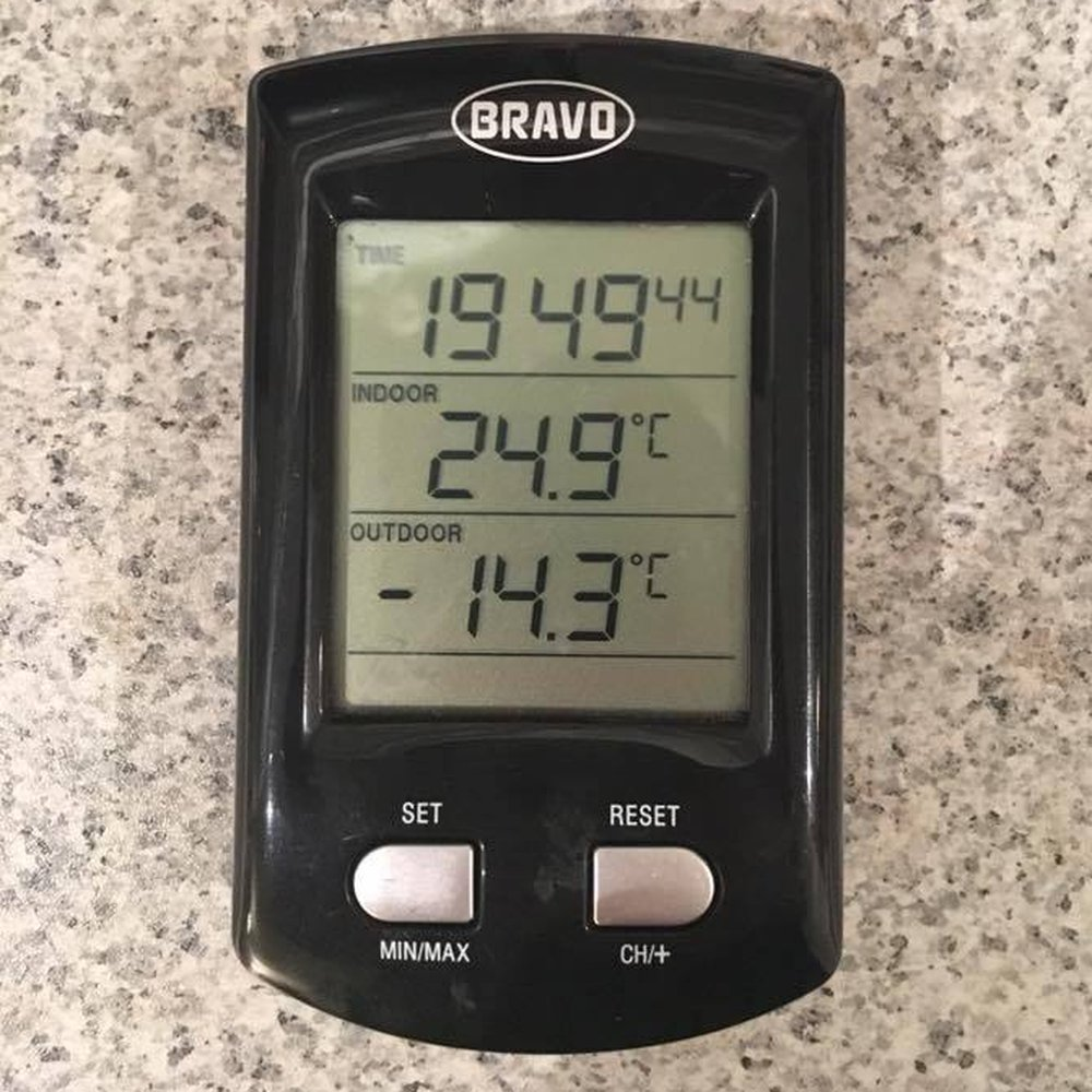 termometras