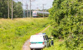 Nelaimė geležinkelyje: šunį gelbėjusią moterį Kaune partrenkė traukinys (papildyta, foto)
