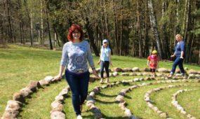 Kaunietė R. Janulevičienė paskirta labirintų ambasadore Europoje