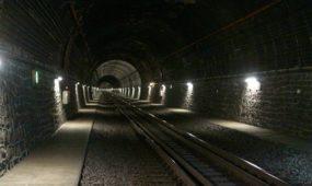 Geležinkelio tunelio atidarymas