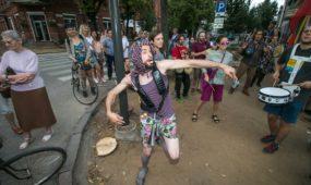 Protesto akcija prieš kertamus medžius