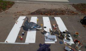 Gatvės menas, piešiniai