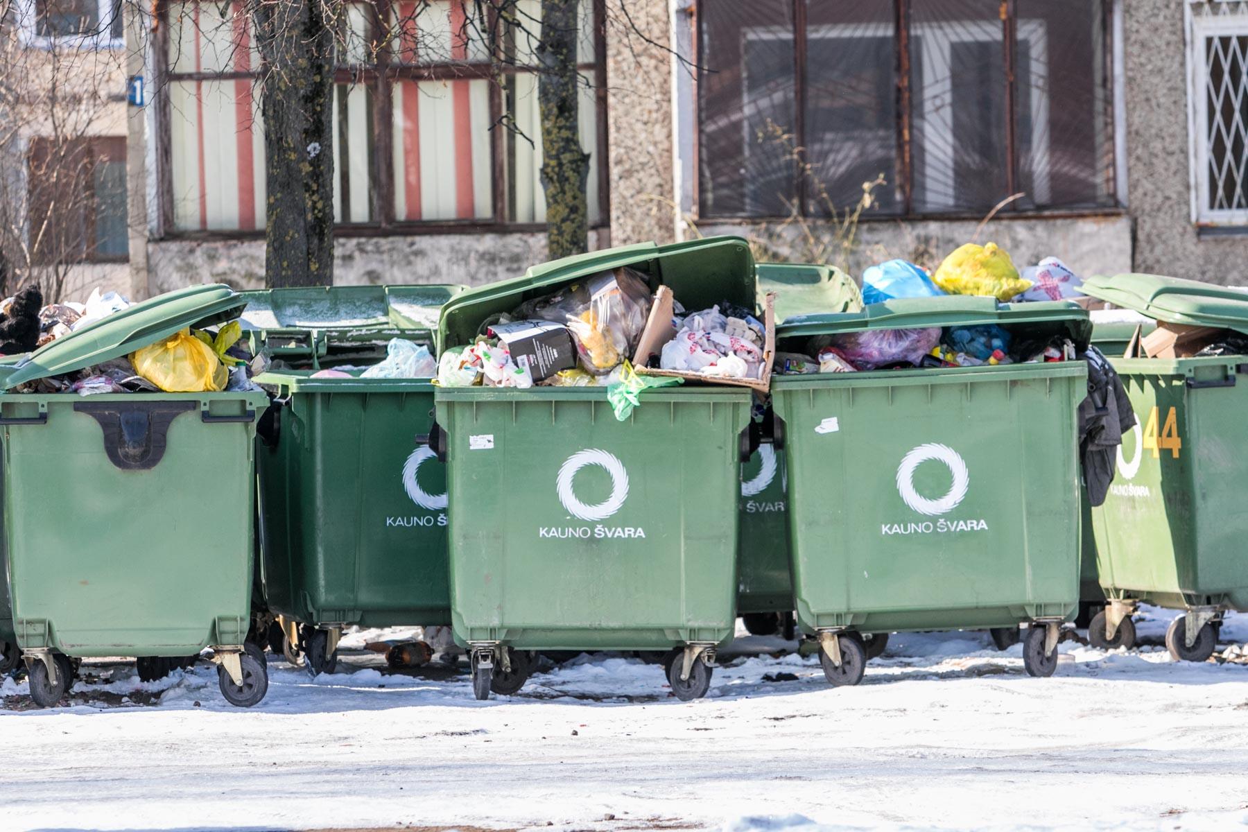 kas yra prekybos atliekų sistema