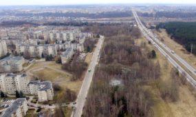 Statoma greitkelio A1 ir Ašigalio gatvės jungtis