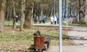 """Ąžuolyno parkas prieš """"Kaunas tvarkosi"""""""