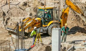 Statybos, darbininkai