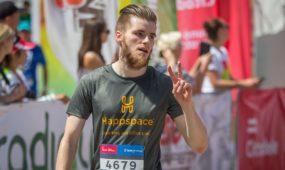 """""""Happspace"""" Kauno maratone"""