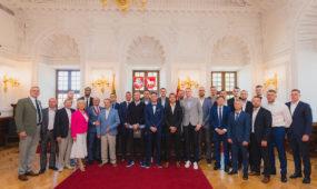 Š.Jasikevičius paskelbtas Kauno garbės piliečiu
