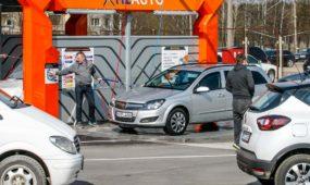 H2AUTO bekontaktė automobilių plovykla