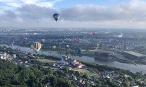 Skrydis oro balionu 15