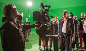 E. Vėlyvio filmo filmavimas
