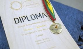 """Dailiojo čiuožimo čempionatas Kauno """"Žalgirio"""" arenoje"""