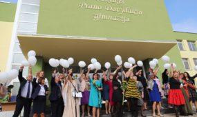 1. Svietimas. Atnaujinta Cekiskes Prano Dovydaicio gimnazija