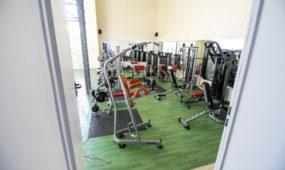 3. Sportas. Rekonstruotame Kulautuvos vaikų dienos centre - daug galimybių sportuoti.