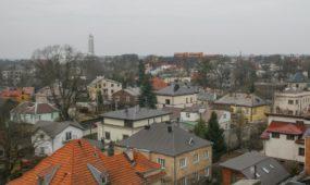 Kauno apskrities viešosios bibliotekos (KAVB) saugyklos bokštas