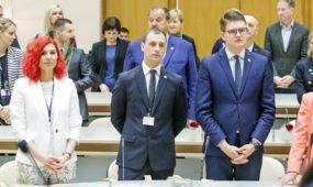 V. Matijošaičio inauguracija ir savivaldybės tarybos narių priesaikos