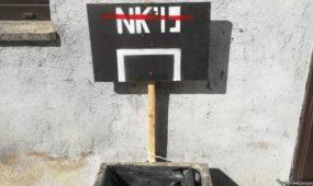 """""""Naktinio krepšinio"""" reklama"""