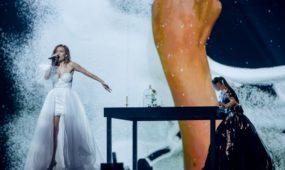 """Moldovos atstovės pasirodymas """"Eurovizijoje"""""""