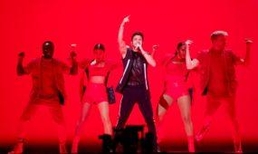 """Šveicarijos atstovo pasirodymas """"Eurovizijoje"""""""