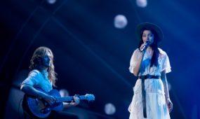 """Latvijos atstovės pasirodymas """"Eurovizijoje"""""""