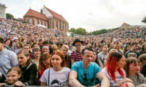 Kauno gimtadienio šventę užbaigė A. Mamontovo koncertas