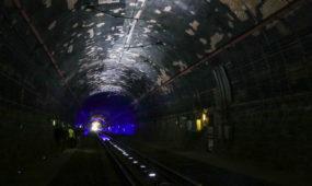 Paroda Kauno geležinkelio tunelyje