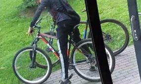 Baltų prospekte pavogti dviračiai
