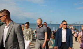 """Socialinė akcija """"Pasveikink jūrą Palangoje"""""""