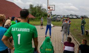 """""""Valstiečių"""" sąskrydis Prienų rajone"""
