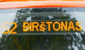 Birštono autobuso maršrutas