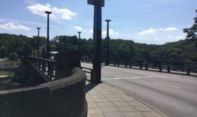 Aleksoto tiltu atnaujintas eismas