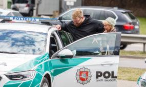 """Policijos priemonė """"Švarus vairuotojas"""""""