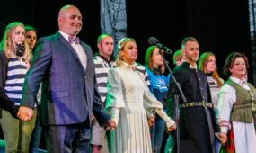 Lietuvos himno giedojimas